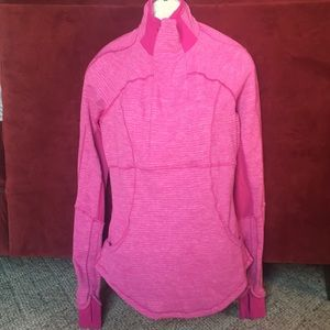 Lululemon Athletica Pink Long Sleeve